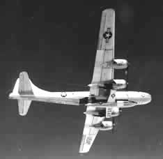 B-29 and X-1A in Flight
