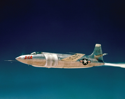 X-1A in Flight