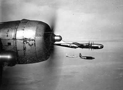 X-1 and B-29s