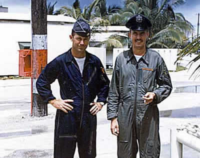 Chuck Yeager and Tom Collins