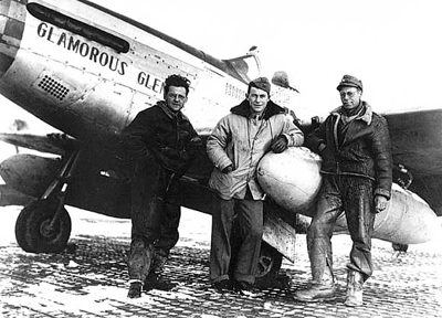 Yeager and Ground Crew