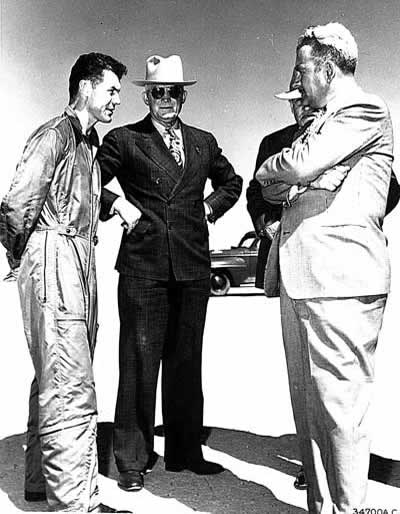 Chuck Yeager and Hap Arnold