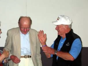 Chuck Yeager and Bob Hoover