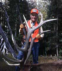 Chuck Yeager With Elk
