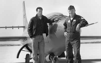 Chuck Yeager and Sam Shepard