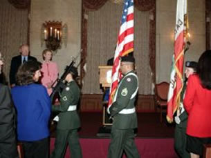 USAR 311th Corps Support Command Color Guard