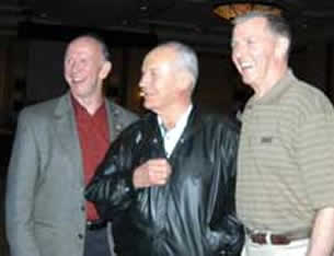 General Yeager, General Pearson, and General Joe Engle