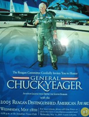 Chuck Yeager poster